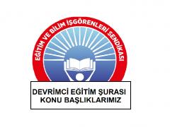 DEVRİMCİ EĞİTİM ŞURASI